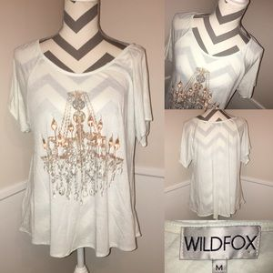 WILDFOX   chandelier swing tee